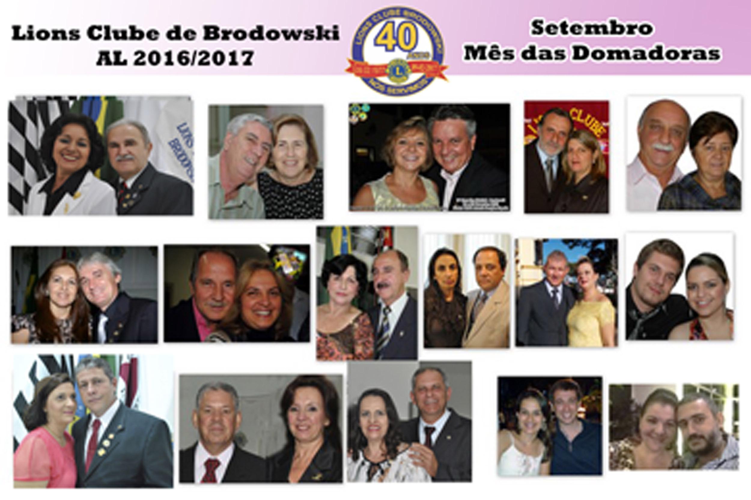 LC BRODOWSKI NO MES DAS DOMADORAS